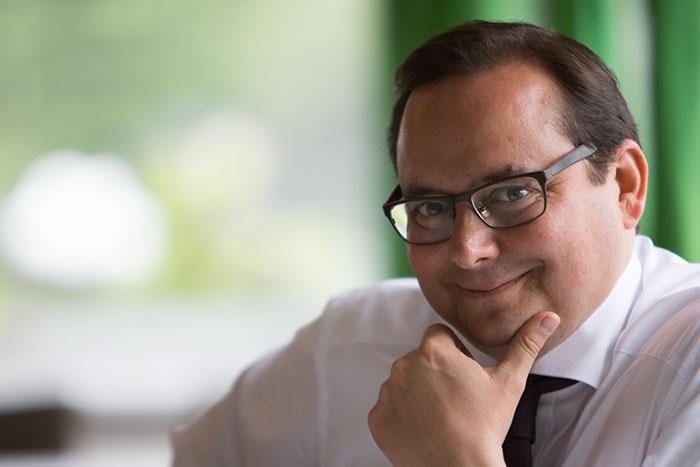 Foto: Thomas Kufen, Oberbürgermeister Stadt Essen (Fotograf: Schultheiß)